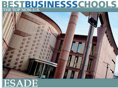 Ipade Mba Fees by The Top Non Us Business Schools