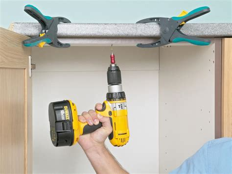 best screws for attaching cabinets together how to install a countertop how tos diy