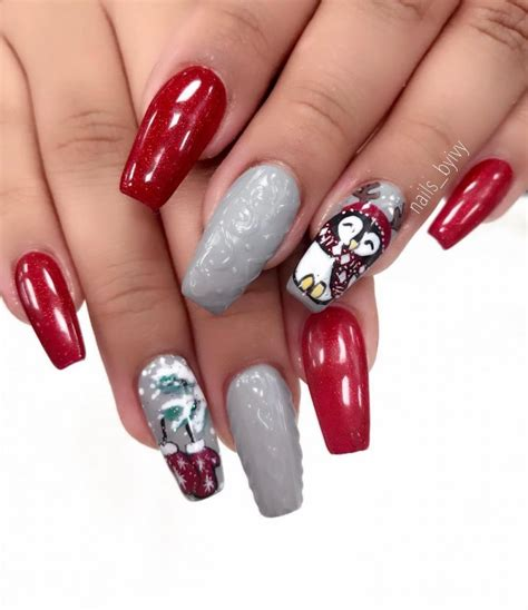 new year 2018 nail new winter manicure for the new year 2018