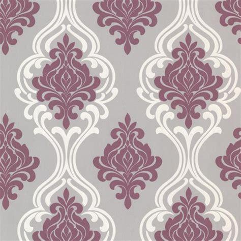 Victorian Home Decor Catalog 2533 20211 purple damask wallpaper indiana elements