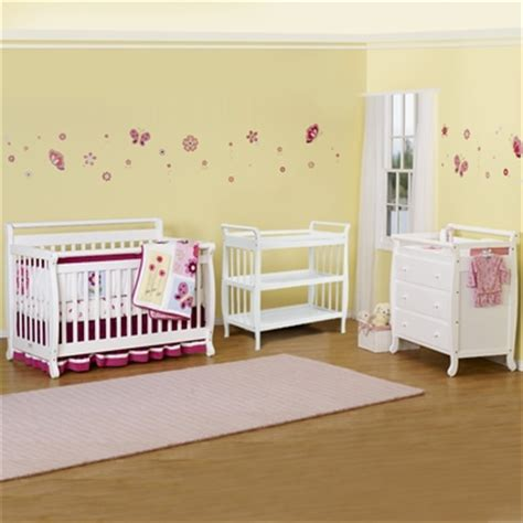 mini 2 in 1 convertible crib and kalani 4 drawer dresser