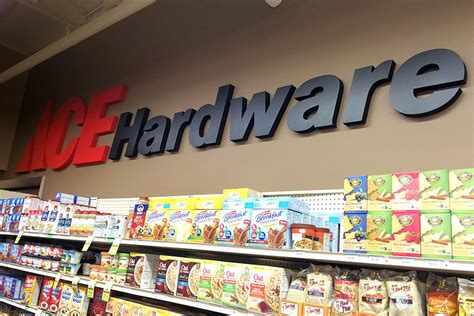 ace hardware font signs plus non illuminated dimensional letters logos