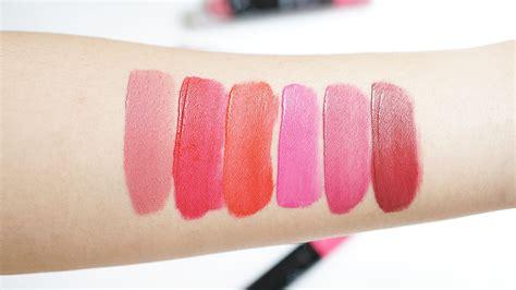 Bedak Pixy Yang Pink sasyachi diary pixy lip all colours review