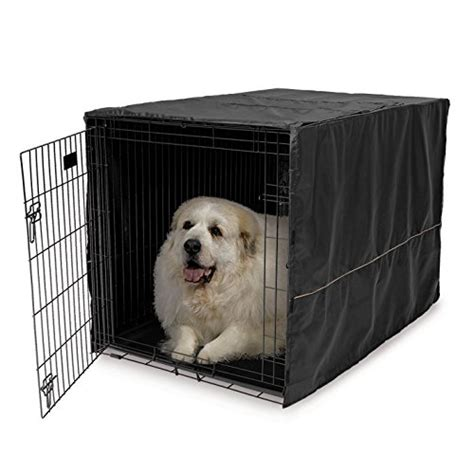 dog crate covers for wire dog crates 4 great choices 48 quot l x 30 quot w x 33 quot h 100 polyester hook loop tabs crate