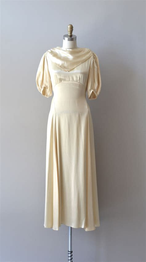 Vintage 30 S Wedding Dresses by Sandringham Gown 1930s Wedding Dress Vintage 30s By