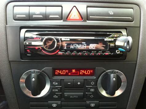 Radio F R Audi A3 by Changement D Autoradio Probl 232 Mes Electrique Ou