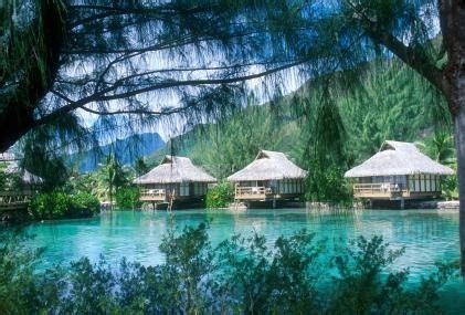hawaiian bungalow resorts luxury bora bora hotels and resorts