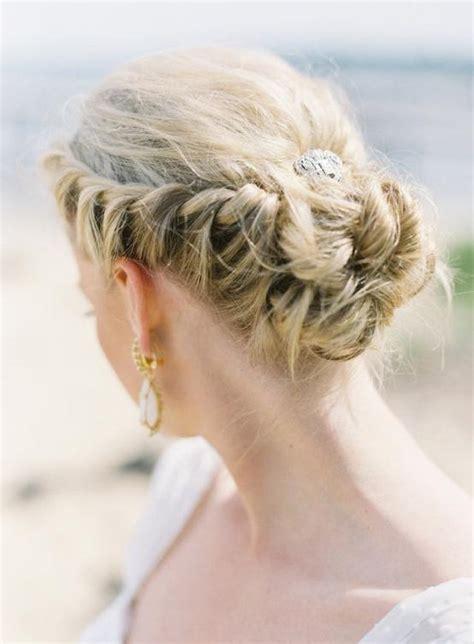 hochzeitsfrisur strand braided crown hochzeit frisuren f 252 r langes haar 1111614