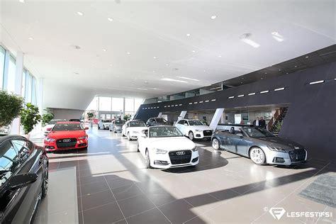 audi car dealership a new audi car dealership in l 233 vis ems