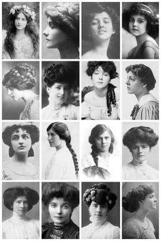 different era hair styles sixteen different victorian hairstyles vintage