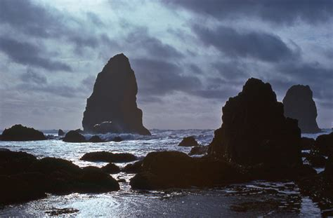 the needles cannon beach oregon by rutabagas photo