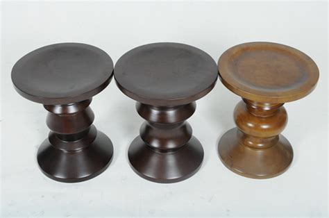 eames stuhl replika eames walnut stool reproduction bar stools