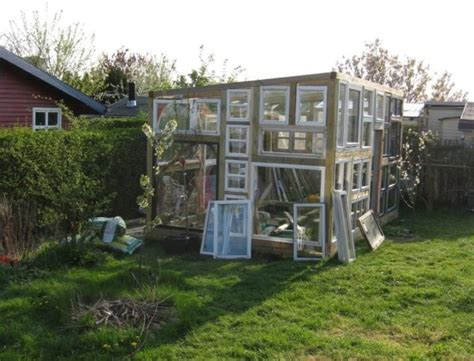 backyard tiny house backyard tiny hobby house built from recycled windows