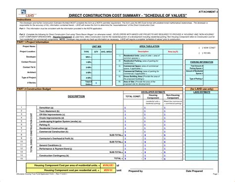 Construction Schedule Excel Template by Residential Construction Template Residential