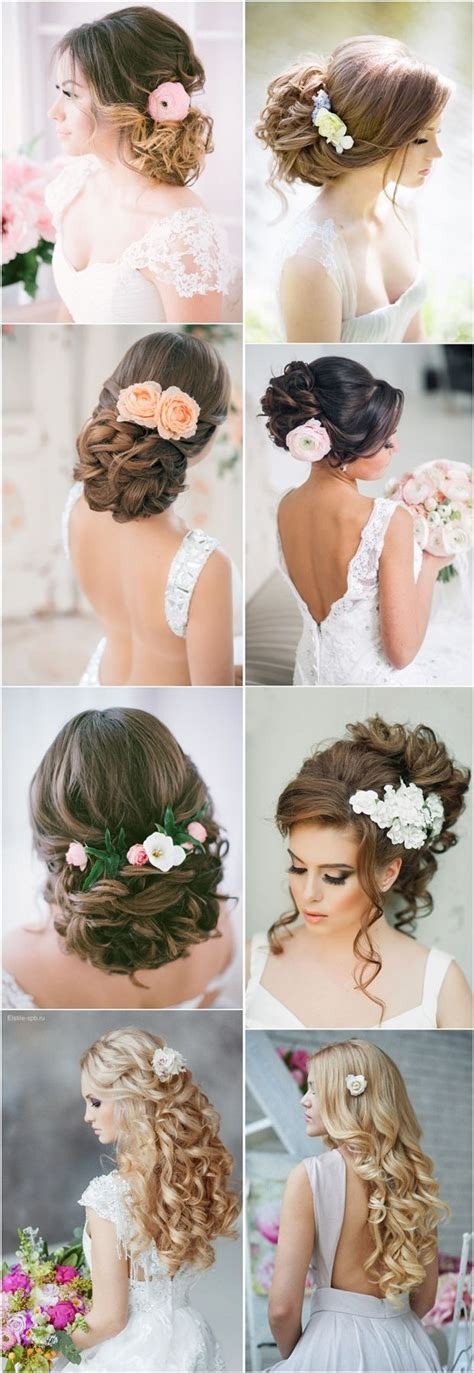 Wedding Hair Updos Flowers by 664 Best Wedding Hair Ideas Images On Bridal