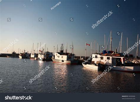 commercial fishing boats near me commercial fishing boats gimli marina on stock photo