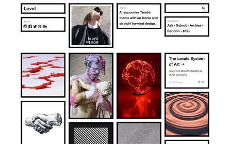 tumblr themes free dolliecrave level an ajax powered masonry theme zen themes