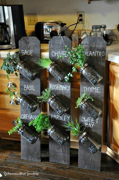 Jar Vertical Garden Find The Right Indoor Herb Garden For You Zanui