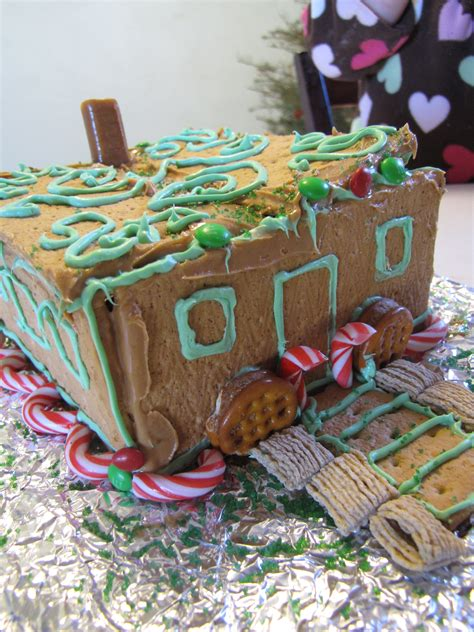 simple gingerbread house toddler tuesday easy quot gingerbread quot house the abundant wife