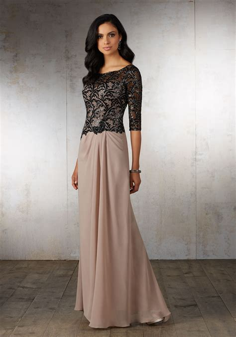 Special Occasion Dresses by Chiffon Special Occasion Dress Style 71524 Morilee