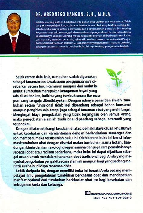 Ensiklopedia Indonesia ensiklopedia tanaman obat indonesia indonesia publishing