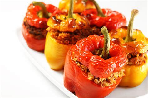 cucinare peperoni ripieni peperoni ripieni al forno food