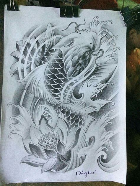 koi fish sleeve tattoos designs best 25 koi fish designs ideas on koi fish