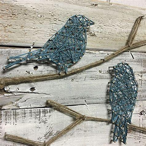 String Bird - amazonsmile teal birds on a branch string birds