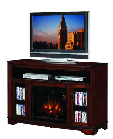 Entertainment Centers With Electric Fireplaces by 56 Palisades Empire Cherry Entertainment Center Electric Fireplace 23mm070 C244