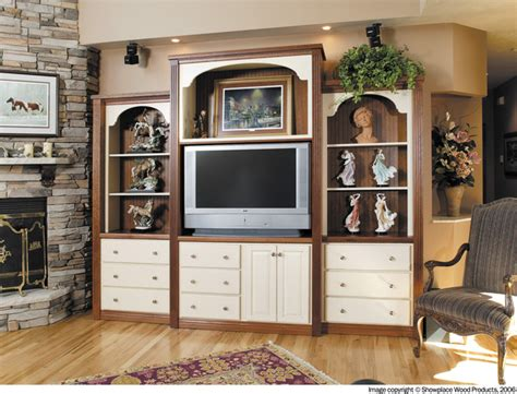 Family Room Cabinets by Showplace Cabinets Family Room Traditional Family