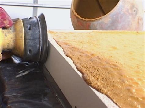 How To Build Concrete Countertop Forms by How To Pour A Simple Concrete Countertop How Tos Diy