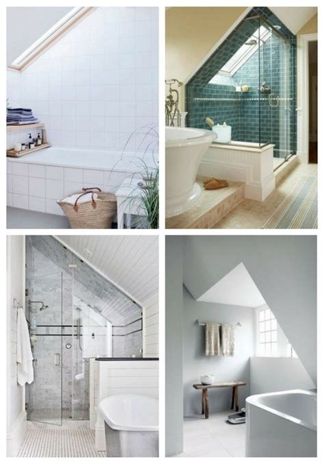 smart bathroom ideas 52 cool and smart attic bathroom designs comfydwelling com
