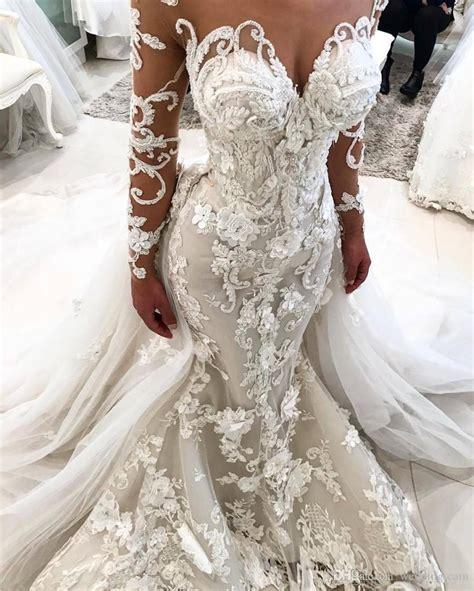 compre vestidos de boda asombroso de la sirena del cordon