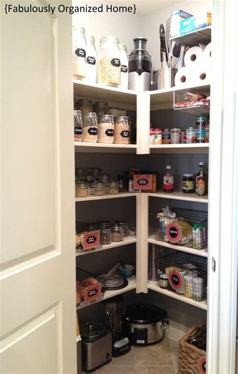 pantry organization ideas kitchen