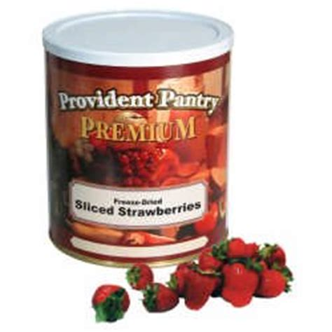 provident pantry freeze dried sliced