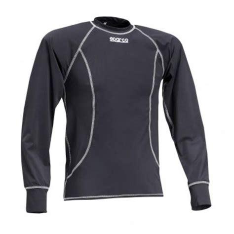 T Shirt Sparco 4 t shirt sparco basic noir manches longues karting