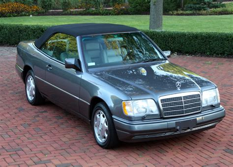 Mercedes E320 Cabriolet For Sale 1995 Mercedes E320 Cabriolet German Cars For Sale