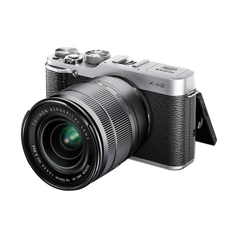 Kamera Fujifilm Mirrorless X A2 jual fujifilm x a2 kit 16 50mm kamera mirrorless