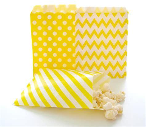 buffet paper bags yellow paper bags birthday favor bags buffet