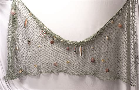 Fish Net Decoration by Decorative Fish Net With Shells Accessories Fishnet