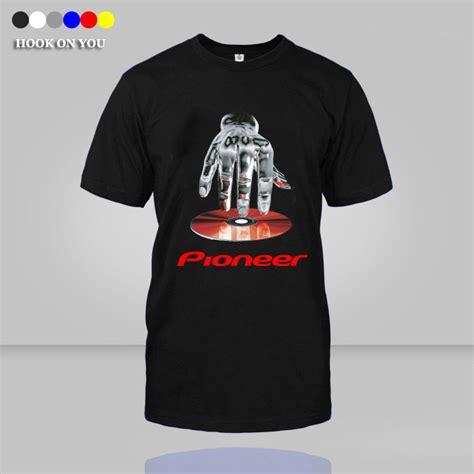 T Shirt Pro Pioner Dj 2016 new cotton pioneer t shirt a dj logo t