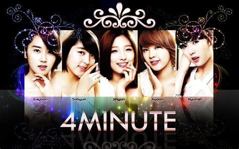 4Minute Profile   KPop Music