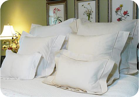 what is a bed sham basic hemstitched pillow