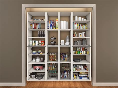 storage closet pantry ideas advices for closet