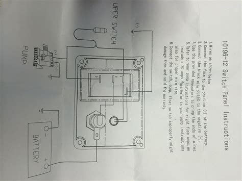 auto wiring diagram for bilge pumps boats bilge