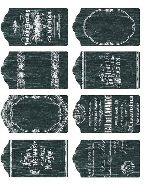 diy chalkboard tags 24 best images about chalkboard labels and templates diy
