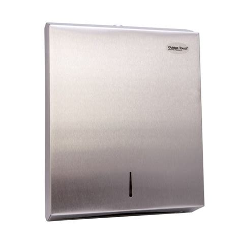 Folded Paper Towel Dispenser - golden touch folded paper towel dispenser stainless