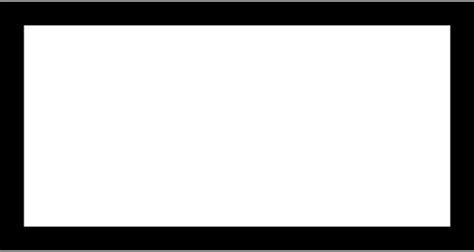Black Outlined Rectangle by The Gallery For Gt Black Rectangle Png