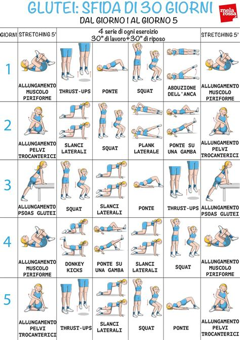 esercizi per dimagrire il sedere questo programma di allenamento con esercizi glutei