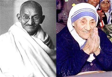biography of mahatma gandhi and mother teresa facilitators exemplify servant leadership worktraits